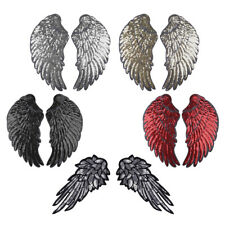 Sequins Angel Wings Embroidered Patch Sew/Iron-on Applique Heat Transfer Sticker