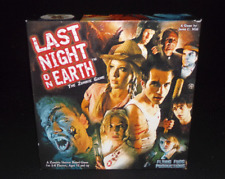 Last Nigh On Earth Zombie Survival Board Game Flying Frog Games Complete