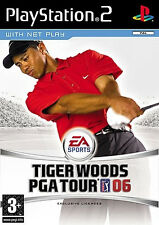 Tiger Woods PGA Tour 06 Sony PlayStation 2 Ps2 Game - EA Sports