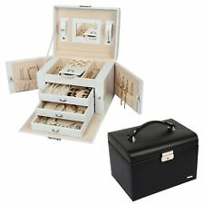Homde Jewelry Box Organizer  Jewelry Organizer Large Jewelry Box Case  Storage