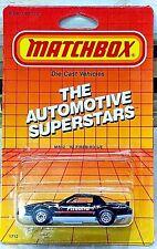 MATCHBOX 1982 MB12 '82 Firebird S/E Black with Red White Firebird on Hood 1/64