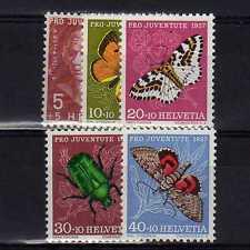 SUISSE SWITZERLAND Yvert  n° 597/601 neuf sans charnière MNH