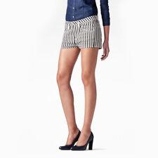 Slim fit denim shorts stripy mid waist G-Star Raw sriped Arc Tuka Hot Pants