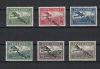 albania 1927 air  overprint mounted mint  hinged stamps ref r13340