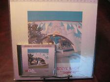 STEVE BACH HOLIDAY ORIGINAL MFSL SEALED ALUMINUM CD & HALF-SPEED MASTERED LP