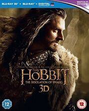 The Hobbit desolation Of Smaug 3d Bluray 4 Disc Set