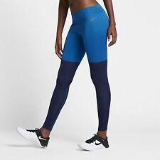 Nike NikeLab Essentials Women's Training Tights M Blue Gym Running Yoga New