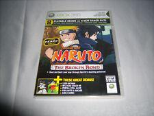 Official Xbox Magazine Xbox360 Playable Game Demo 93 2009 Naruto The Broken Bond