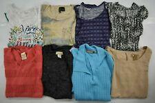 Wholesale Bulk Lot 8 Womens Plus Size 2X Short Sleeve Tops Spring Summer Blouse