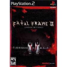 Fatal Frame II 2: Crimson Butterfly [M] PS2