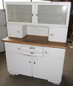 1930/40 er jahre küchen schrank buffet chabby chic  top vintage küche deko unres