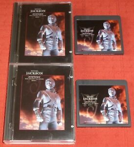 MICHAEL JACKSON - MINIDISC X 2 - HISTORY (GREATEST HITS/BEST OF)