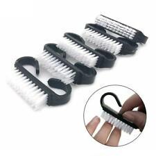 10x Set Nail Brush Finger Toe Scrubbing Cleaning Bristle Manicure Pedicure Hand