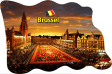 Brüssel Bruxelles Belgien Fridge Magnet Flagge Fahne Epoxid Reise Souvenir