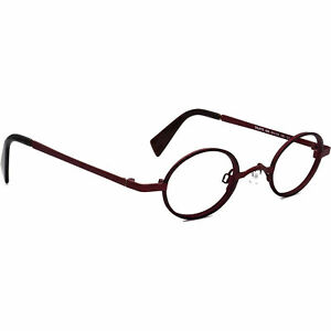 Lafont - Issy & La Eyeglasses Truffe 658 Burgundy/Black Round France 39[]25 135