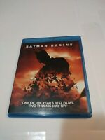 Batman Begins 2008 Used Nolan Bluray Film DC Comic Movies