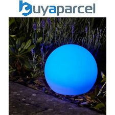 More details for smart garden solar lunieres orb lantern led light white colour changing large
