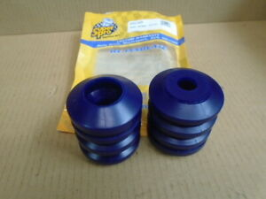 Triumph TR7 TR8 **PAIR - FRONT Suspension BUMP STOP ** Poly Fits on shock insert