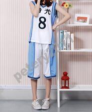 Kuroko no Basket Kuroko's Basketball Kise Ryota Cosplay Costume Jersey White