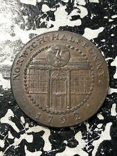1792 Great Britain Norfolk Norwich Conder Token 1/2 Penny Lot#BG2 D&H-28a