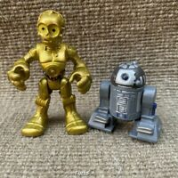 Star Wars Playskool Galactic Heroes C3PO Foot Droid & Astromech Droid R2D2 Gifts