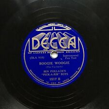 78obrotów Ben Pollack - Boogie Woogie / California Here I Come Decca 1517