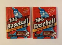 1993 Topps Series 2 MLB Baseball Cards - Factory Sealed Unopened - 2 Pack Lot