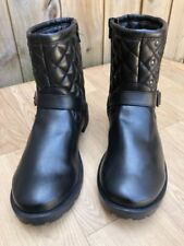 Marks and Spencer Mid Heel (1.5-3 in.) Patternless Boots for Women