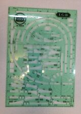 LGB No.10010 G Scale Layout Track Template