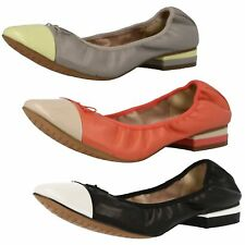 Clarks Composition Leather Casual Shoes for Women