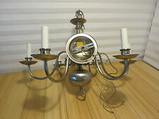 Nulco Aluminum Chandelier Circa 1978 In Nice Condition