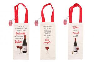 Wine Bottle Bag - Wedding Anniversary Brithday Jute Linen Canvas