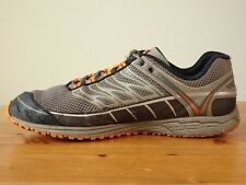 MENS MERRELL BRINDLE & ORANGE HIKING TRAIL RUNNING SHOES SIZE 10.5
