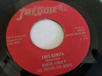 RAMON AYALA Los Bravos del Norte - Eres Bonita / Al Baile Me Fui TEX-MEX Freddie