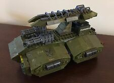 Halo Mega Bloks custom UNSC Mamba tank.  MUST SEE!  Last one!