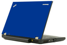 BLUE Vinyl Lid Skin Cover Decal fits IBM Lenovo ThinkPad T420 Laptop