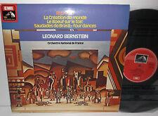 ASD 3444 Milhaud La Creation Du Monde Orc National De France Leonard Bernstein