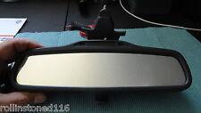 VOLVO S60 XC70 V70 S80 XC90 GREY REARVIEW MIRROR MANUAL DIM 015468