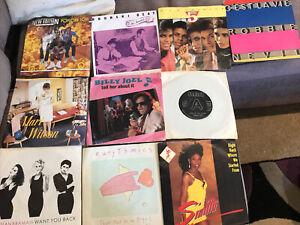 "10 x 7"" Vinyl Singles Records from the 1980s Bananarama Sinitta Etc as Listed #8"