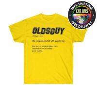Olds Guy Defined Oldsmobile Cutlass 442 Washed & Worn Style T-Shirt S-5XL