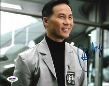 BD Wong Jurassic Park World Fallen Signed 8x10 Auto Photo PSA/DNA COA (A)