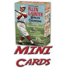 2021 Topps Allen & Ginter Baseball MINI Cards *PICK A CARD* Singles