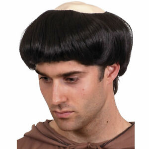 Monk Wig Funny Fancy Dress