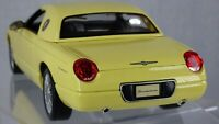 FORD THUNDERBIRD CONCEPT 2000 CONVERTIBLE AMERICAN MUSCLE TOY MODEL CAR 1:18