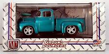 """1956 Ford F-100 Pick-Up Truck  """"NEW""""  M2 Machines ( Ground Pounders ) """"NEW"""""""