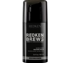 Redken Brews Work Hard Molding Paste 2 X 100ml All Hair Types RFM