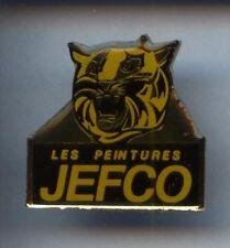 RARE PINS PIN'S ..  ANIMAL TIGRE TIGER / PEINTURE JEFCO BTP ¤2T