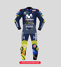 2018 MOVISTAR ENEOS MotoGP Motorcycle Sports BIKER LEATHER Race Leather SUIT