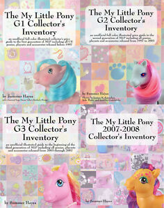 The My Little Pony Collector's Inventory Series G1 G2 G3 2007-2008 Price Guides