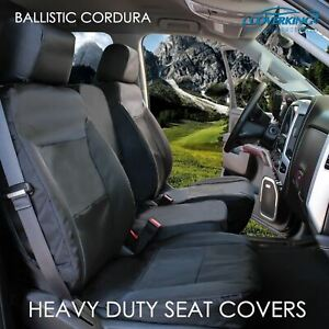 Coverking Cordura Ballistic Tailored Front Custom Seat Covers for Toyota Sequoia